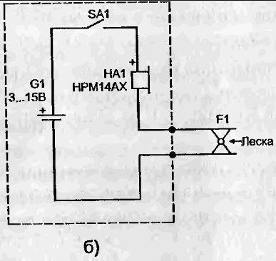 Звуковые сигнализаторы клева.