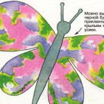 Чудесная бабочка.
