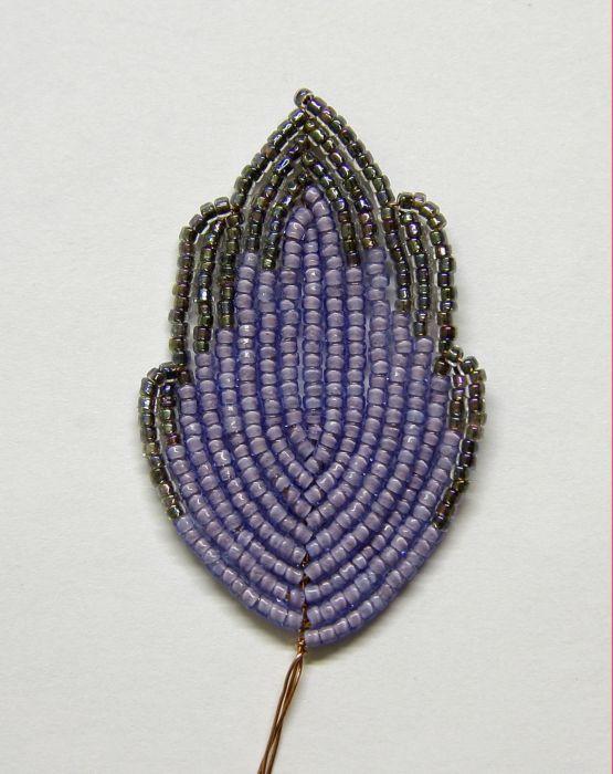 Гладиолус из бисера