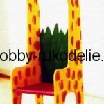 """Детский стульчик """"жираф"""" своими руками."""
