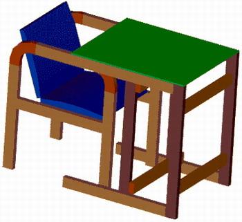 Детский стол-стул своими руками