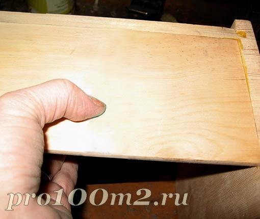 Деревянная хлебница своими руками