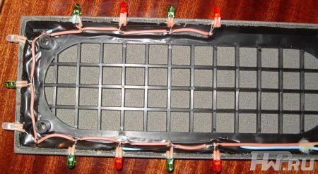 Подсветка передней части акустической системы Microlab B-75 / 2.0 своими руками