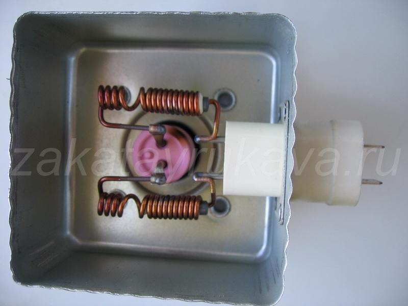 Магнетрон микроволновки своими руками