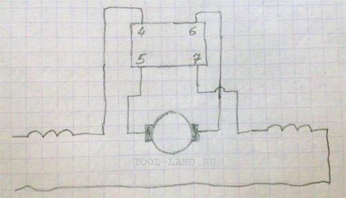 Схема подключения реверса