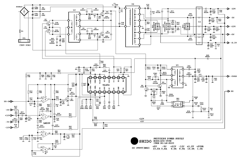 Переделка блока питания для ПК POWER MAN IW-P350 в блок ...