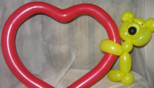 Поделки из воздушных шаров своими руками
