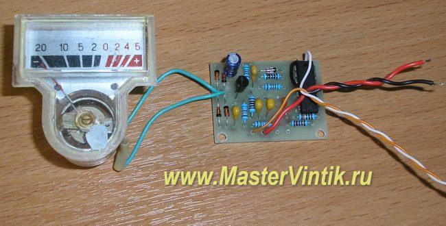 Прибор для проверки оксидных конденсаторов на ЭПС (ESR)