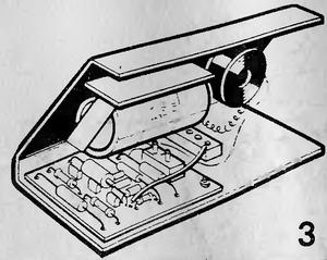 Самодельное переговорное устройство по двум проводам