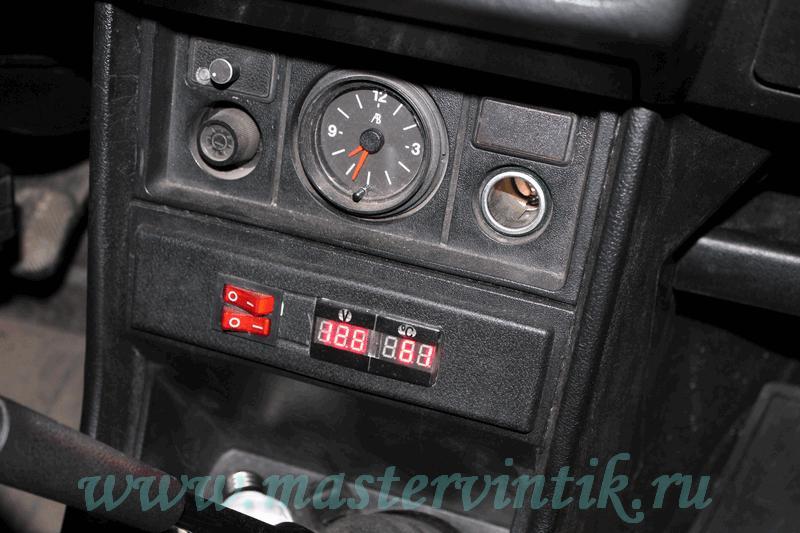 подогревателя на ВАЗ-2107i «