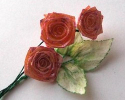 "Поделки из бумаги - ""Роза"""