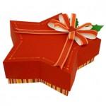 Коробочка для новогоднего подарка