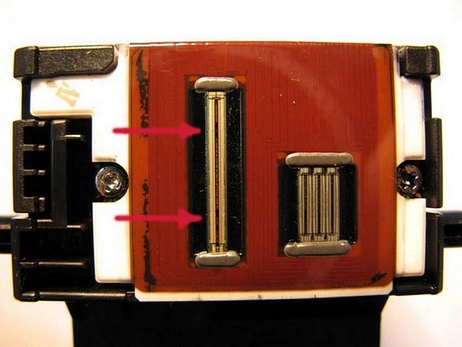 Метод промывки печатающих головок струйных принтеров Canon
