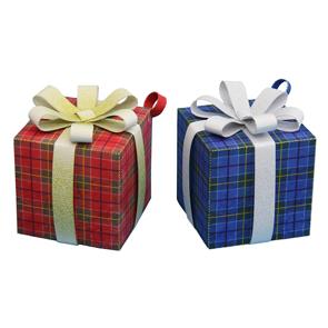 Разноцветные подарочные коробки своими руками