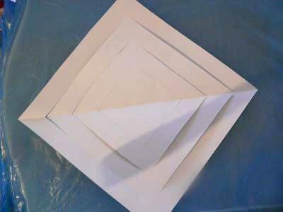 Новогодние украшения. Объемная снежинка из бумаги своими руками