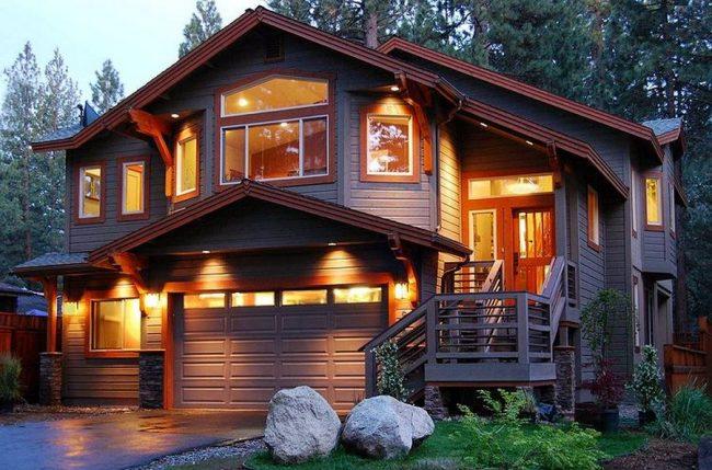 Как выбрать освещение загородного дома, дачи?
