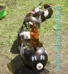 Поделка из пластиковых бутылок