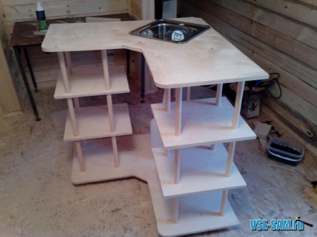 Мебель своими руками - кухонный уголок