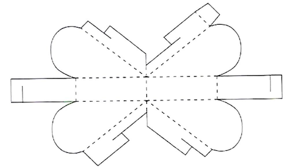 Коробочки из бумаги своими руками по схеме