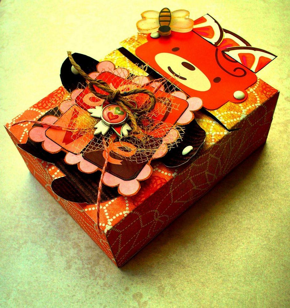 елочка из коробки своими руками схема