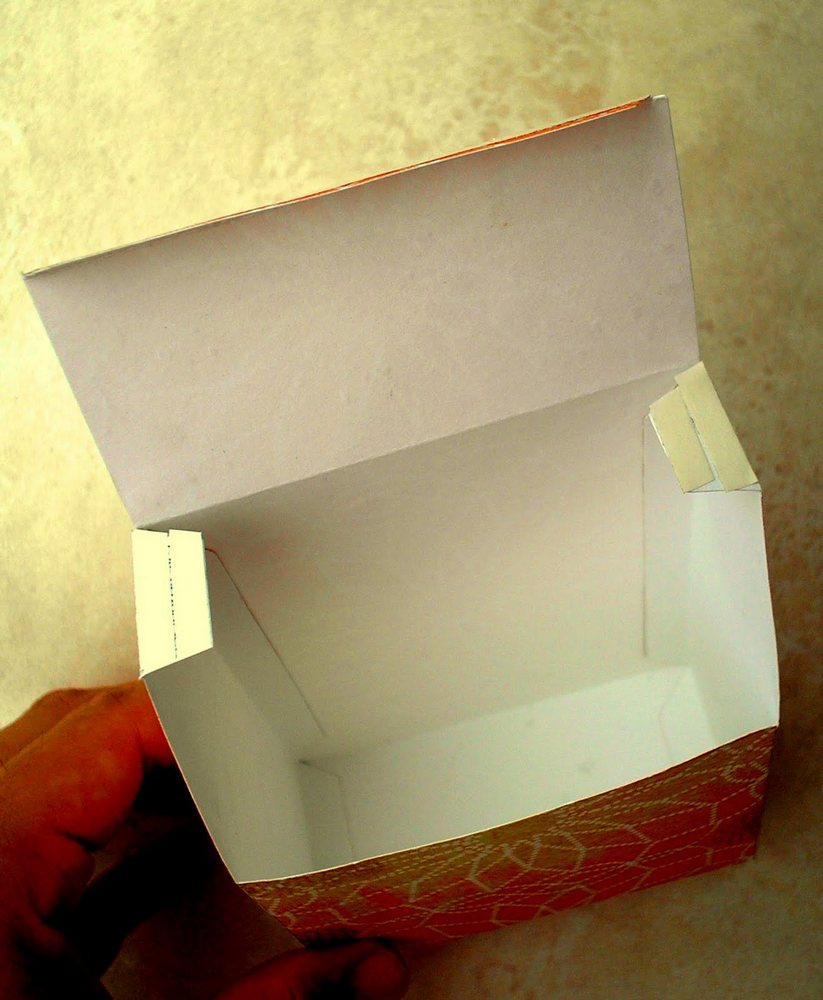 Бокс коробка своими руками 20
