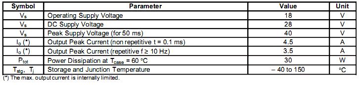 Типовая схема включения TDA