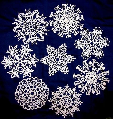 снежинки схема