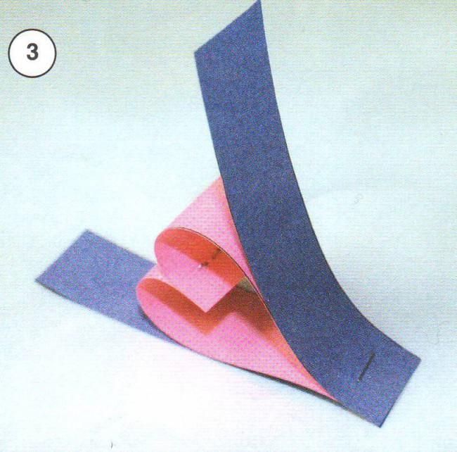 Простая гирлянда из бумаги