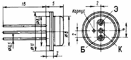 Параметры транзисторов ГТ313