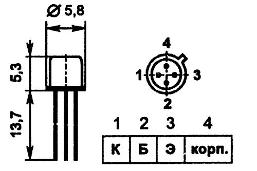 Параметры транзисторов ГТ346