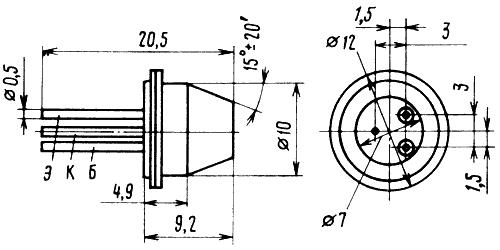 Параметры транзисторов ГТ403