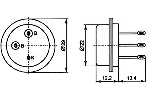 Параметры транзисторов ГТ806