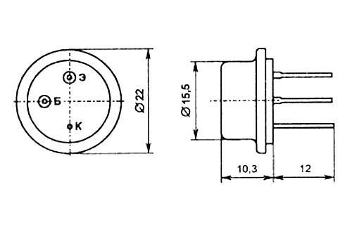 Параметры транзисторов ГТ906