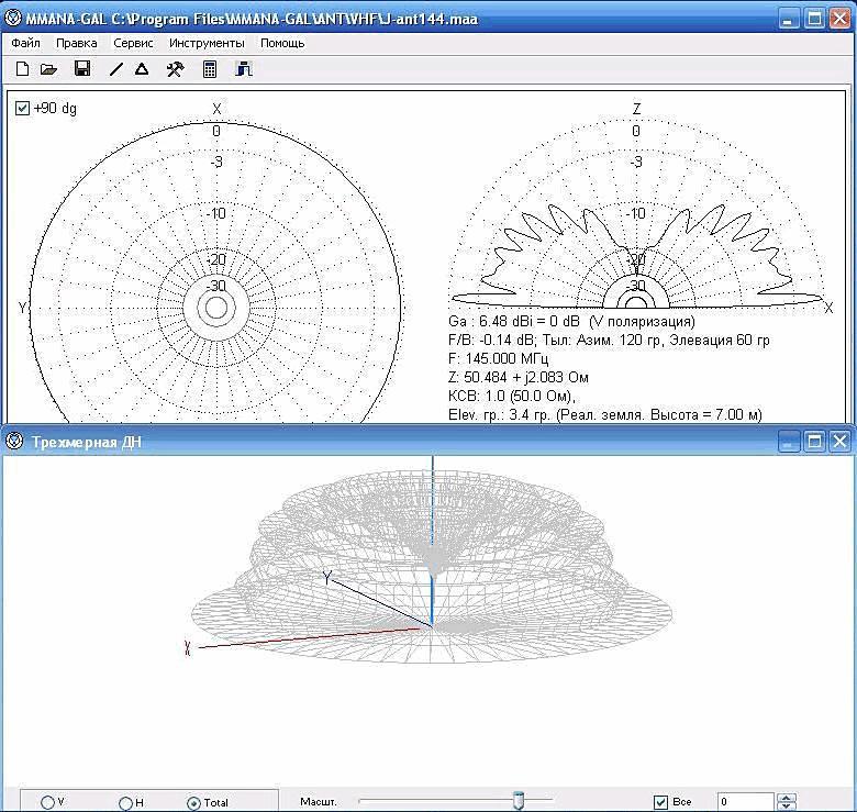 Программы для расчета антенн