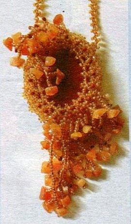 Бисероплетение - оплетение камня