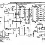 Индикатор контроля напряжения бортовой сети автомобиля