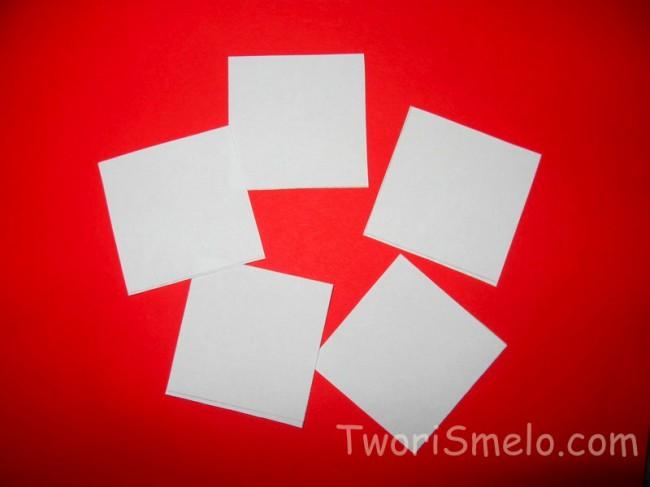 Валентинка из бумаги своими руками