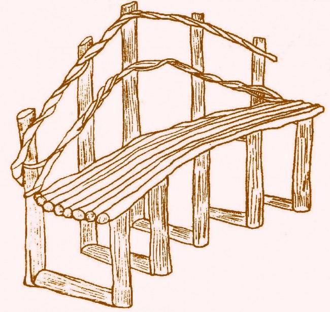 Делаем скамейку для дачи сами