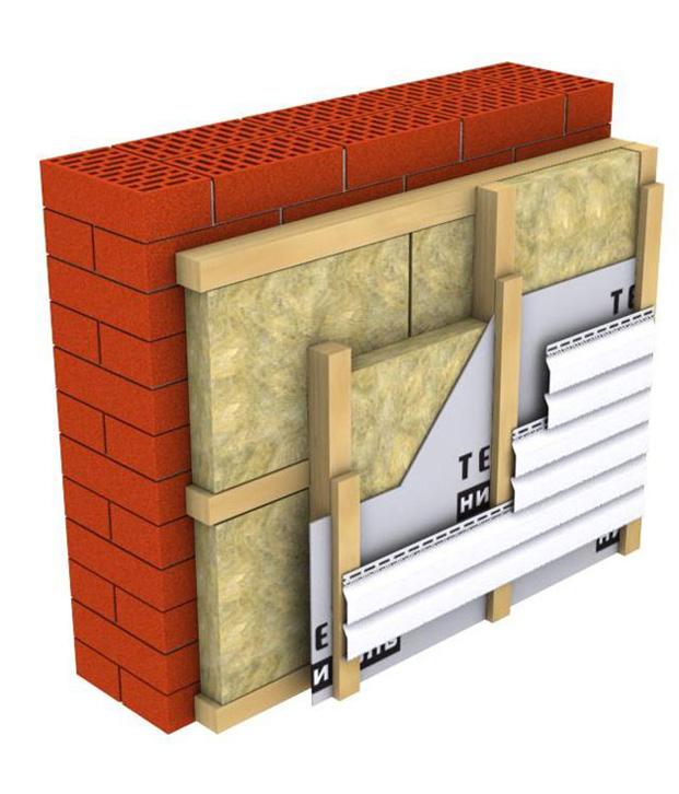 Вентилируемый фасад из сайдинга своими руками