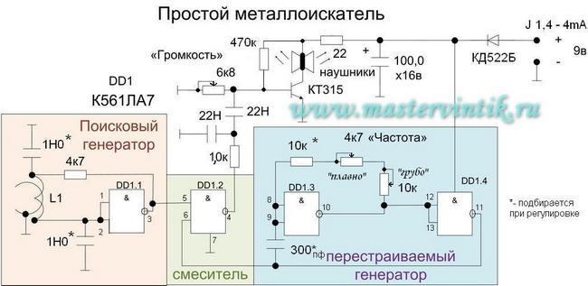 Самодельный металлоискатель