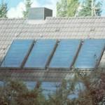 Самодельная солнечная батарея на крыше