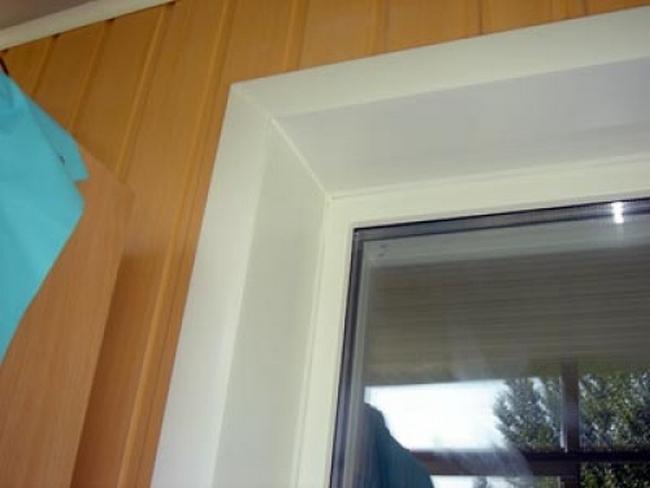 Откосы для окна своими руками?