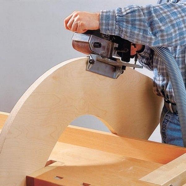 Как сделать кресло-качалку для сада?