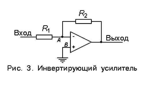 Схемы включения операционных