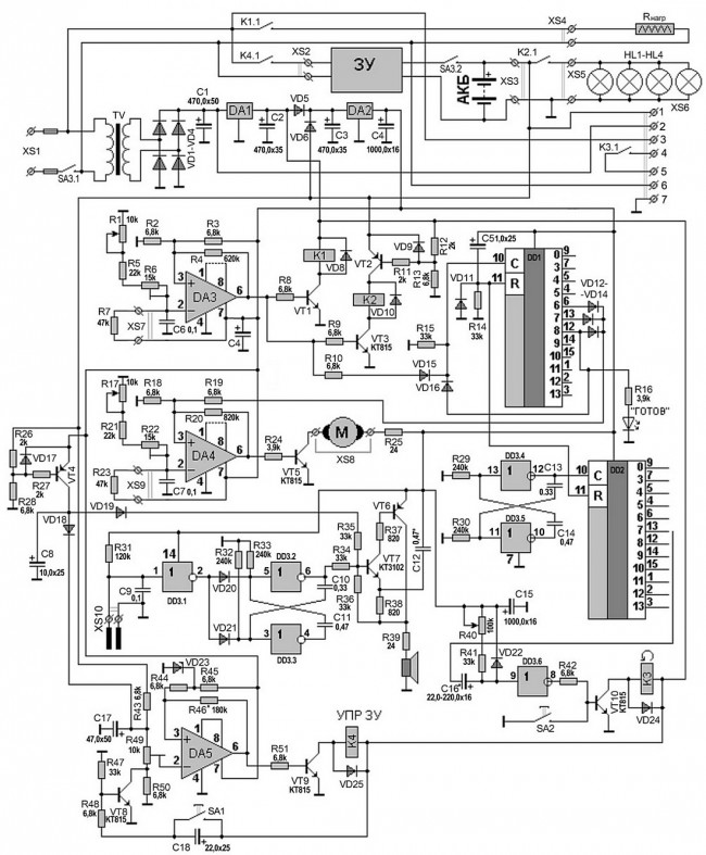 Автоматика для инкубатора
