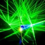 Простая установка для лазерного шоу