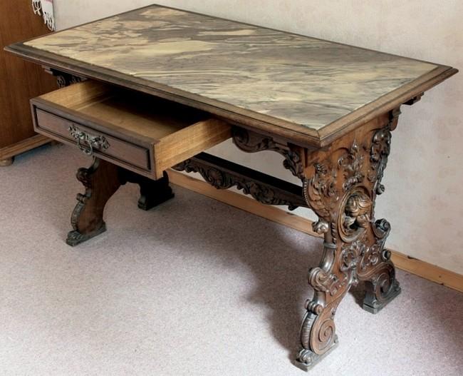 Как реставрировать старый деревянный стол?