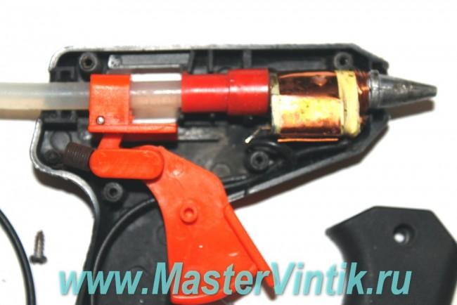 Ремонт термоклеевого пистолета своими руками