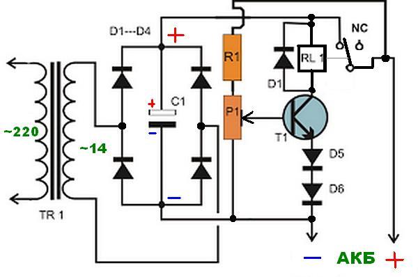 Зарядное устройство для аккумуляторов своими руками простые