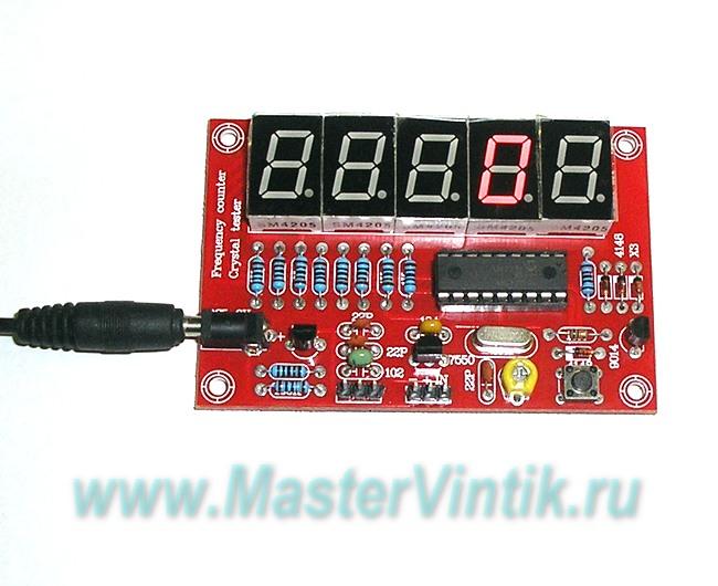 Частотомер на PIC16F628 своими руками